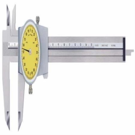 CALIBRE RELOJ PIE DE REY 0-200 MM/0-60 LONGITUD 125 MM
